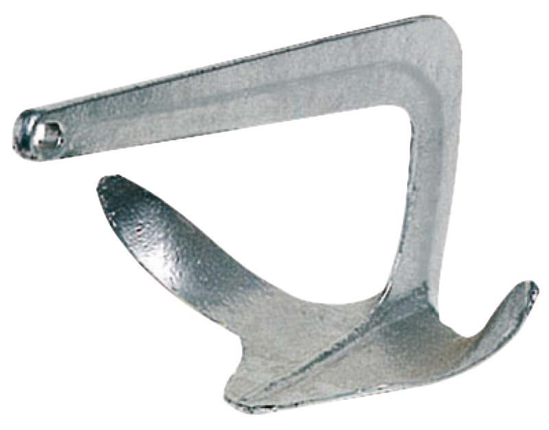 Ancora Trefoil® in acciaio fuso e zincato a caldo