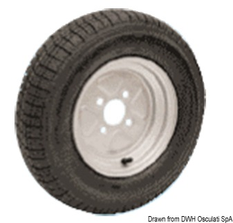 Ruote pneumatiche per carrelli alta velocità