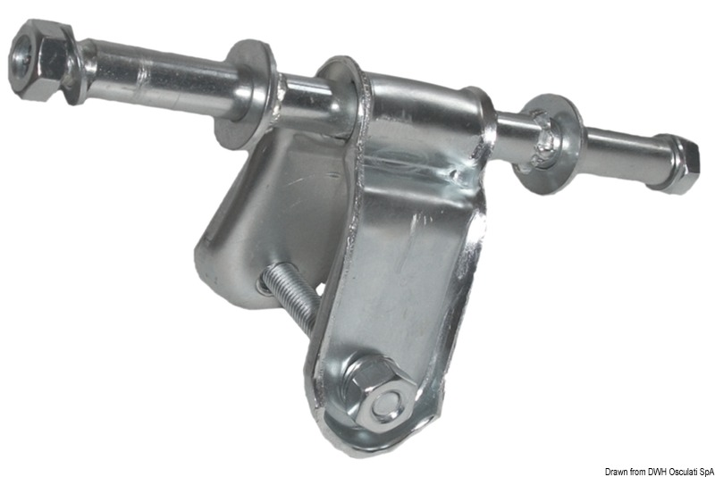Staffa per rullo laterale Ø 120 mm