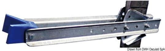 Fermo di prua regolabile 645 mm