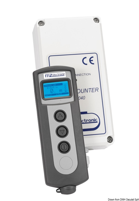 Radiocomando contametri universale