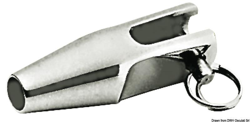 Terminale inox forcella per lifeline 5 mm