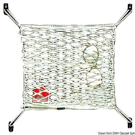 Rete elastica in nylon porta oggetti