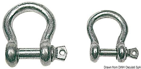 Grillo a lira in acciaio zincato