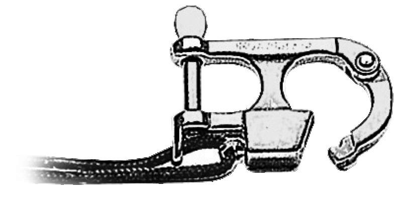 Moschettone in acciaio inox regolamentare per sci nautico (D.M. 4/2/60 e succ.)
