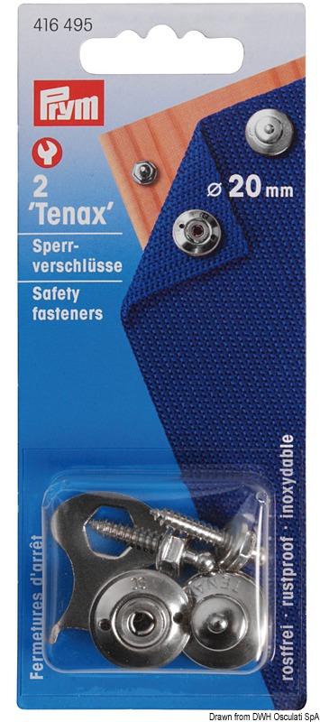 Blister bottoni Tenax 2+2