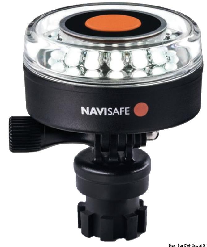 NAVISAFE Navilight 360° Bianca 2NM