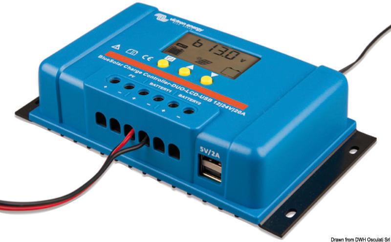 Regolatori di carica VICTRON Blue - Solar per pannelli solari