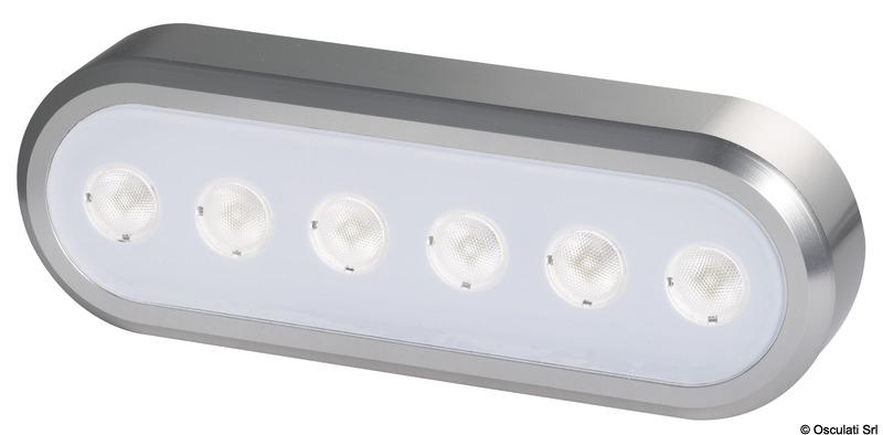 Faro a LED orientabile auto reggente 154x53 mm