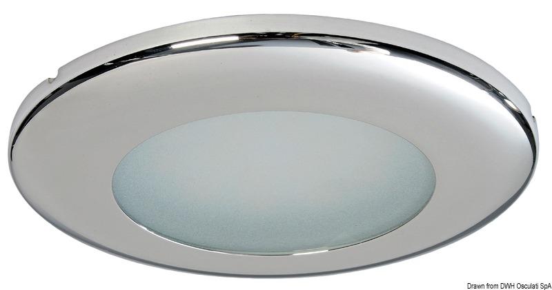 Plafoniera LED da incasso Capella