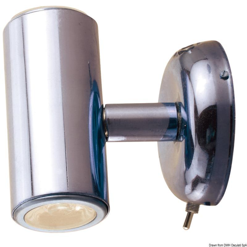 Faretto fisso di ambientazione con doppia luce LED