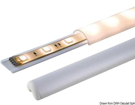 Profilo per strisce LED 1000 mm