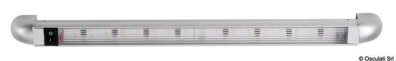 Luce LED a rotaia Turnstripe rotanti