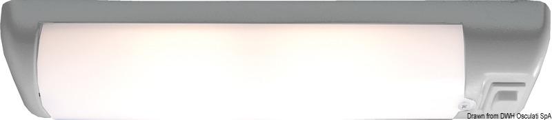 Plafoniera Soft bianca LED 12 V