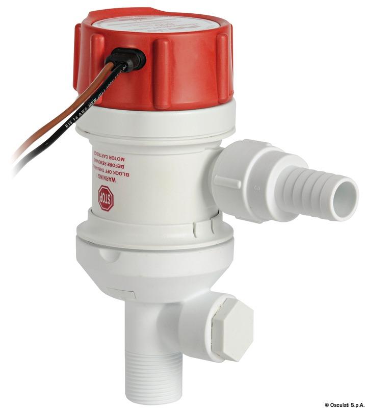 Pompa aeratrice RULE Pro-Series ad immersione per vasche del pescato