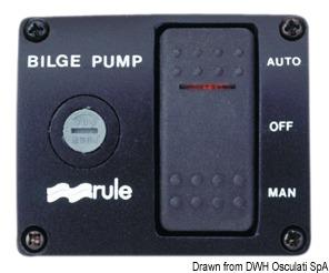 Interruttore RULE per pompe di sentina De Luxe