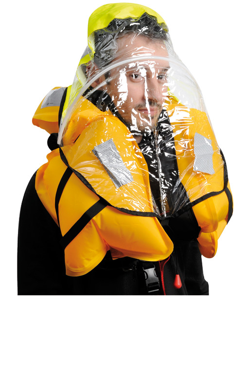Salvagente autogonfiabile Sail Pro 180 N (omologato EN ISO 12402-3)