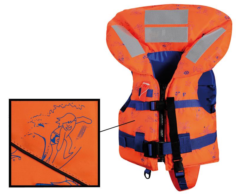 Giubbotto salvagente SV-150- 150 N (EN ISO 12402-3). Modello Top Quality