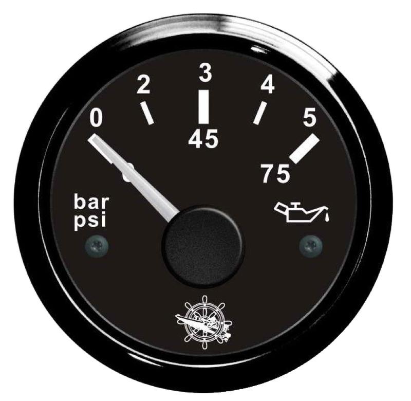 Indicatore pressione olio