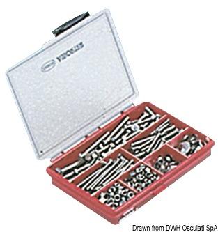 Cassetta viti Compact 600 pz