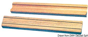 Gradini per bordo 305x45x22 cm