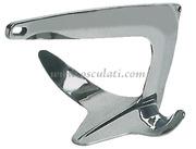 Ancora Trefoil® in acciaio inox AISI 316 lucidato a specchio