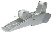 Accessori Nautici - Musone di prua a ribalta in lega leggera anodizzata Per ancore fino a kg 12