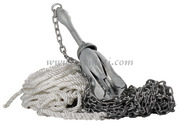 Accessori Nautica Package ancora ombrello 4 kg  [0170001]