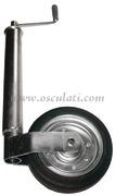 Accessori Nautica Ruotino anteriore regolabile tubo diamatro 60 mm  [0201652]