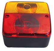 Accessori Nautica Fanale posteriore DX 3 funzioni 2 lampadine  [0202105]<br/><font color=#962308>Quantità Minima: 2 pezzi (2.79€ al p.zo) </font>