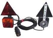 Accessori Nautica Kit luci posteriori fissaggio magnetico+triangoli  [0202312]