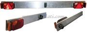 Accessori Nautica Barra posteriore lega leggera con luci 180 cm  [0202316]