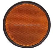 Accessori Nautica Catarifrangente adesivo arancio 60 mm  [0202332]<br/><font color=#962308>Quantità Minima: 6 pezzi (1.25€ al p.zo) </font>