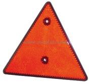 Accessori Nautica Catarifrangente triangolare arancio 70 mm  [0202336]<br/><font color=#962308>Quantità Minima: 6 pezzi (1.14€ al p.zo) </font>