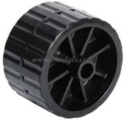 Accessori Nautica Rullo laterale nero 75 mm diamatro foro mm 17  [0202905]<br/><font color=#962308>Quantità Minima: 2 pezzi (4.47€ al p.zo) </font>