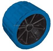 Accessori Nautica Rullo laterale blu 75 mm diamatro foro 15 mm  [0202906]<br/><font color=#962308>Quantità Minima: 2 pezzi (4.47€ al p.zo) </font>