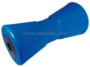 Accessori Nautica Rullo centrale blu 200 mm diamatro foro 17 mm  [0202920]