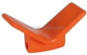 Accessori Nautica Fermaprua arancio in poliuretano 105 x 67 x 124 mm  [0202981]