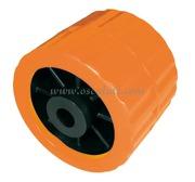 Accessori Nautica Rullo laterale arancio 75 mm diamatro foro 15 mm  [0203106]