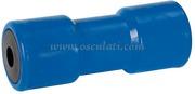 Accessori Nautica Rullo centrale blu 200 mm diamatro foro 21 mm  [0203209]