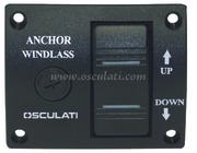 Accessori Nautica Pannello di comando per verricelli 75 x 62 mm  [0234120]