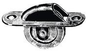 Carrucola da incasso 60 mm