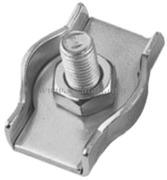 Accessori Nautica Morsetti inox semplici 2 mm  [0451302]<br/><font color=#962308>Quantità Minima: 10 pezzi (0.3€ al p.zo) </font>
