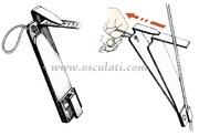 Accessori Nautica Tensiometro Loos per cavi 2,5/3/4 mm  [0457290]