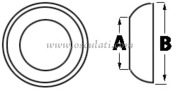 Accessori Nautica Sede per terminale inox diamatro 3/4 mm  [0520104]<br/><font color=#962308>Quantità Minima: 2 pezzi (6.77€ al p.zo) </font>