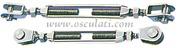 Accessori Nautica Tenditore inox 5 mm due forcelle fisse  [0719805]<br/><font color=#962308>Quantità Minima: 2 pezzi (3.41€ al p.zo) </font>