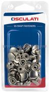 Accessori Nautica Blister 15 bottoni capote Prym  [1030101]<br/><font color=#962308>Quantità Minima: 2 pezzi (7.28€ al p.zo) </font>