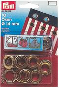 Accessori Nautica Occhioli 40 occhioli ottone 5,5 mm  [1037205]<br/><font color=#962308>Quantità Minima: 2 pezzi (6.32€ al p.zo) </font>