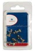 Accessori Nautica Blister 5 bottoni maschio Tenax vite + dado  [1044250]<br/><font color=#962308>Quantità Minima: 2 pezzi (8.24€ al p.zo) </font>