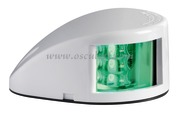 Fanale di via Mouse Deck verde corpo ABS bianco  [1103702]Accessori Nautici